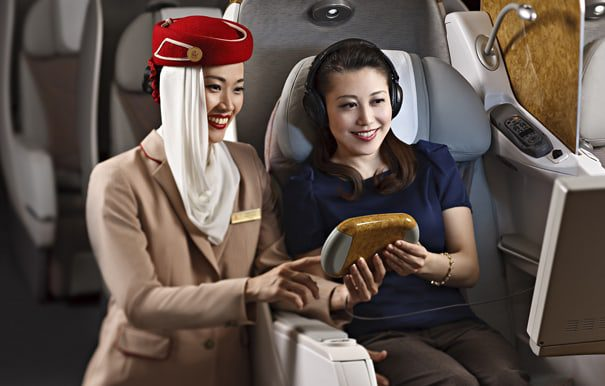Business Class with Emirates