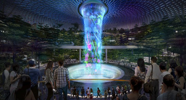 The Shopping Mall, set to look like Changi Airport